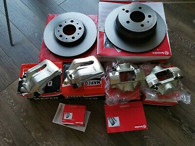 Volvo XC90 D5 Estate 2002-2010 Rear Brake Calipers With Carriers PAIR