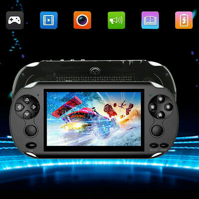 """5.0""""128 Bit Handheld Video Game Built-In 1000 Games Portable Console Player Hot"""