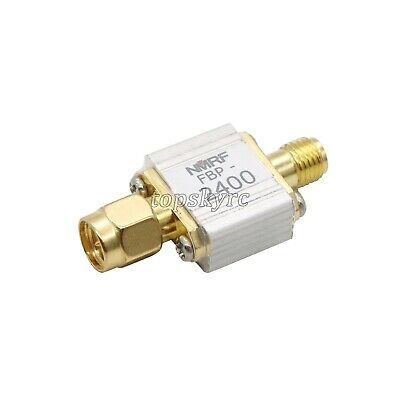 2.4G 2450MHz RF Bandpass Filter SMA Interface for Zigbee Anti-Interference tpys