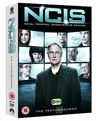 NCIS The Tenth Season Complete Series 10 New & Sealed DVD Box Set
