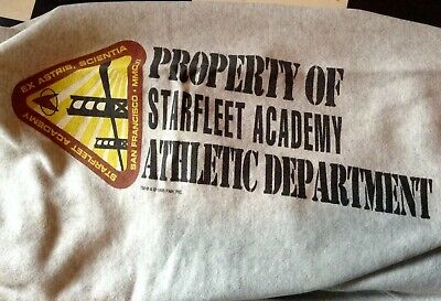Vintage 1990's Star Trek Jogging Hose pants Starflleet Academy XL(L) made in USA