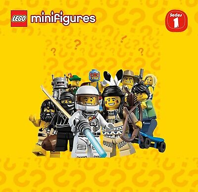 Pick your own! LEGO 8683 Collectible Minifigure Series 1