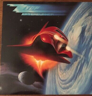 Zz Top - Afterburner   Lp Vinyl Record Album