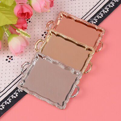 Mini Dollhouse Miniature Accessories Alloy Clipboard with Real Paper Attached IH