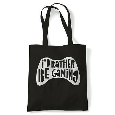 I'd Rather Be Gaming. - Tote - Gaming Gift