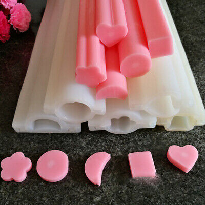 DIY Hand Soap Mold Silicone Tube Column Mould for Homemade Craft Soap Mould TBLU