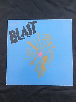 "Holly Johnson, Blast Album, 12"" Vinyl Lp Record"