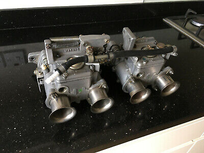 1 x Weber DCOE 40 Carburettor chokes venturis 33mm 72302 twin carbs
