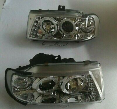Angel Eyes Scheinwerfer Set Seat Ibiza Cordoba 6K Chrom