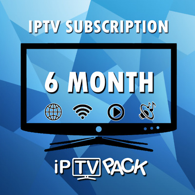 IPTV SUBSCRIPTION 6 Months  Smart Tv  MAG Box  Android  FIRSTICK + ADULT