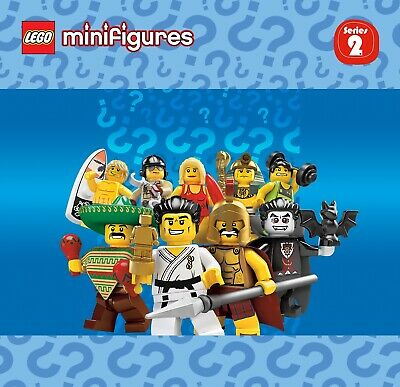 Pick your own! LEGO 8684 Collectible Minifigure Series 2