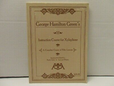Instruction Course for Xylophone by George Hamilton Green 1984 softcover