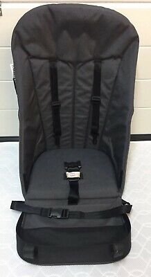 Bugaboo Cameleon 1 & 2 Seat Fabric - Grey Charcoal - Great Condition