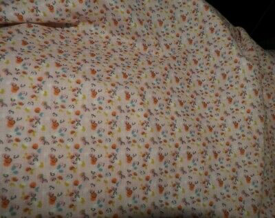 Three Fitted Cot Sheets-Small Floral