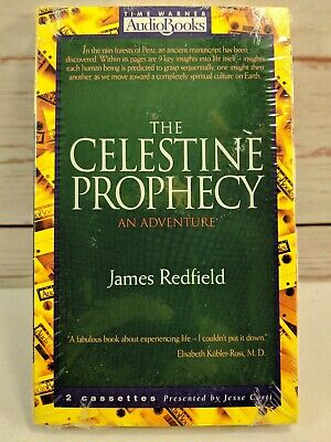The Celestine Prophecy Audio Book on Cassette by James Redfield Brand New