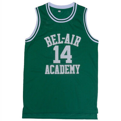 The Fresh Prince of Bel Air Academy 14 Will Smith Green Mens Jersey All Stitched
