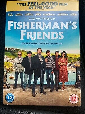 Fisherman's Friends - UK DVD Region 2 Stock - 2019 - Brand New & Sealed