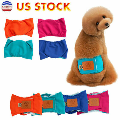 Male Dog Diapers Reusable Machine Washable Belly Bands Pee Odor XL Fast Ship