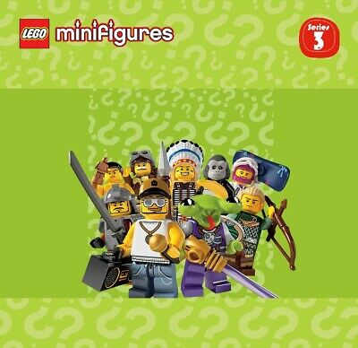 Pick your own! LEGO 8803 Collectible Minifigure Series 3