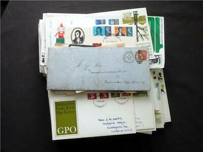 UPA5031 NR 84 pics GB PRE DECIMAL COVERS & FIRST DAY COVERS COLLECTION