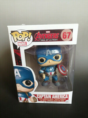 Funko Pop: Avengers 2 Age of Ultron #67 Captain America Vaulted