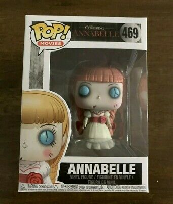 Funko Pop Movies The Conjuring Annabelle (469) Vinyl Figure (Vaulted, rare)