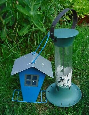 Two Bird Feeders, 1 Fat Ball / 1 Seed/Peanut, Collect Only, Bolton (Bl5)