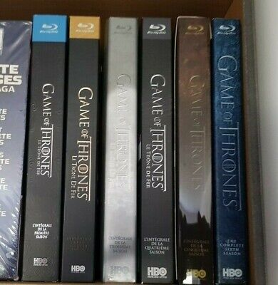 Game Of Thrones Lot Coffret Blu-ray Intégrale Saison 1 A 6