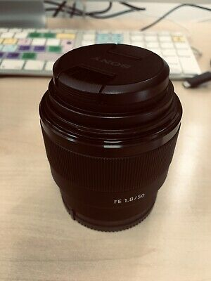 Sony FE 50mm f1.8 Lens very good condition, used a couple of times