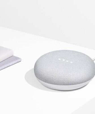 Google Home Mini Smart Speaker with Google Assistant - White (chalk)