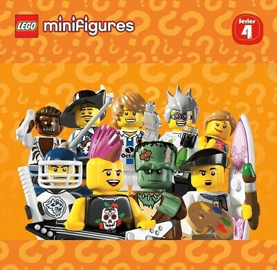 Pick your own! LEGO 8804 Collectible Minifigure Series 4