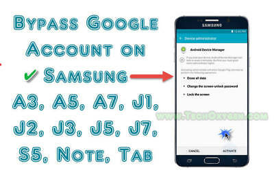 INSTANT SAMSUNG Note 8 Remove FRP Google Account Lock and