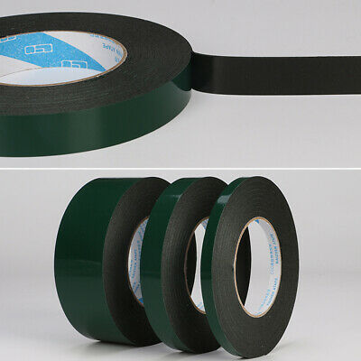 8mm 12mm 20mm Double Sided Foam Tape Strong sticky Adhesive Car Trim Useful