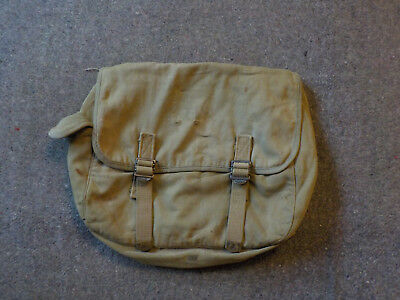 WW2 US Army M-1936 Musette Bag 1940 Powers & Co Inc. USA Airborne GI Army RARE