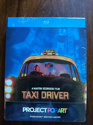 Taxi driver steelbook  blu-ray édition limitée pop-art NEUF SOUS BLISTER