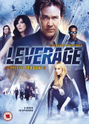 Timothy Hutton, Gina Bellman-Leverage: Complete Season 4 DVD NUEVO
