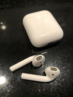Apple AirPods Wireless Earbuds And Case (authentic Apple Receipt)