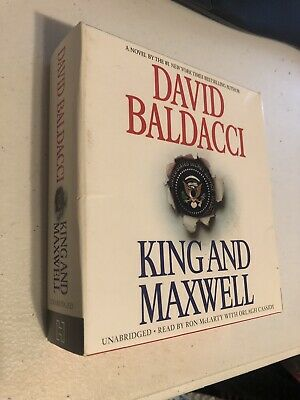 USED AudioBook KING AND MAXWELL by DAVID BALDACCI UNABRIDGED on CD