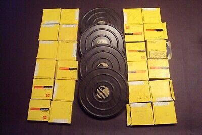 Lot of 28 Vtg Home Movies 8 mm 1970s Family Travel Holiday abroad nova scotia,sf