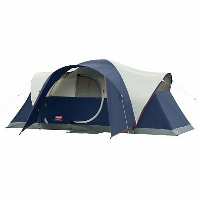 Tent 8-Person Hinged Door LED Lights 15 Minute Set-up  Dome Design Color Coded
