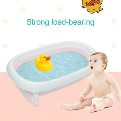 Portable Baby Bath Tub Infant Shower Newborn Kids Bath Pad Support Seat