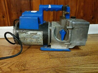 ROBINAIR SPX 15600 Cooltech High Performance Vacuum Pump 1/2 Horsepower, 6 CFM