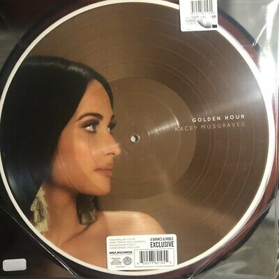 Kacey Musgraves GOLDEN HOUR Picture Vinyl LP Record NEW SEALED