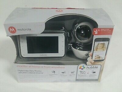 Motorola MBP854CONNECT Dual Mode Baby Monitor with 1 Camera and 4.3-Inch LCD