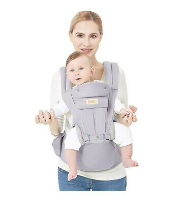3D Baby Hip Carrier All Season Baby Sling with 9 Carry Positions Truly Hands-Fre