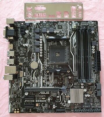☆ ASUS PRIME B350M-A /CSM Motherboard, AMD Socket AM4, DDR4, HDMI