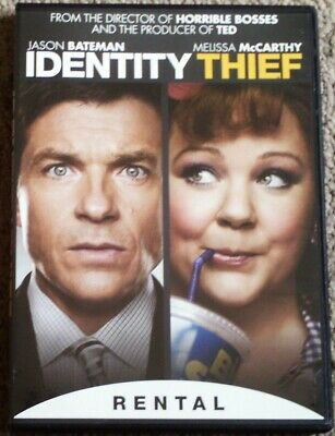 Identity Thief, DVD, 2013, Rental Exclusive, Widescreen, Melissa McCarthy