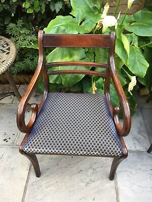 Eight Regency Style Dining room Chairs
