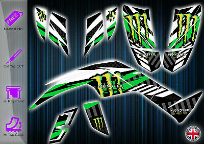 Quadzilla 450 Sport Graphics Kit - 450 Sport - Dinli 450 Decal - Quadzilla Decal