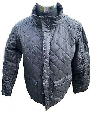 618c40d21 CEDARWOOD STATE XL Mens Black Quilted Winter Jacket Coat Chest Size 48  Inches